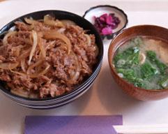 とりすき丼 ¥500