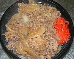 とりすき丼 ¥450